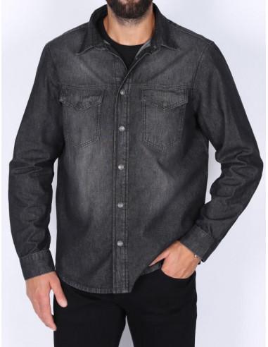 Джинсовая рубашка Whitney G511 WEST BLK