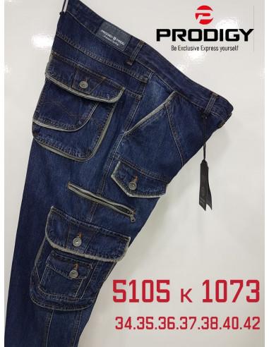 Джинсы мужские Prodigy 5105-K 1073