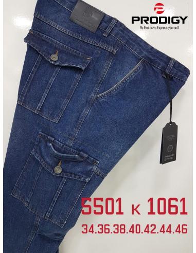 Джинсы мужские Prodigy 5501-K 1061