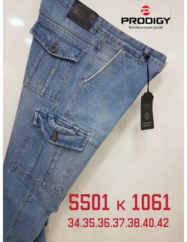 Джинсы мужские Prodigy 5501-К 1061