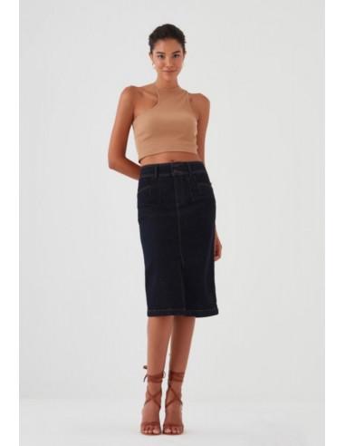 Джинсовая юбка Pantamo 5427-1433-01