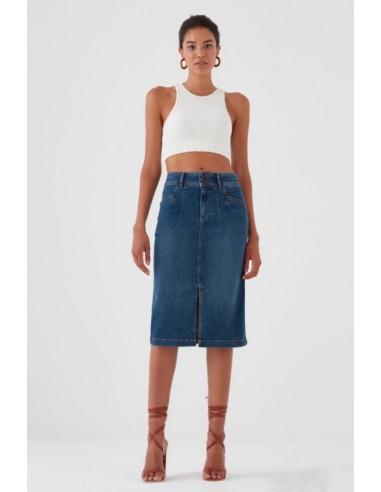 Джинсовая юбка Pantamo 5427-1486-03