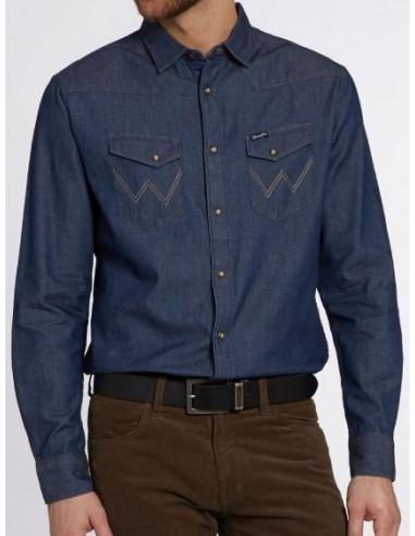 Рубашка мужская Wrangler W590-25-X1E