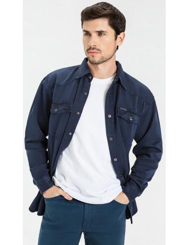 Рубашка джинсовая VELOCITY 16-V03