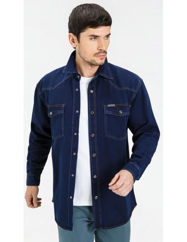 Рубашка джинсовая VELOCITY 16-V26