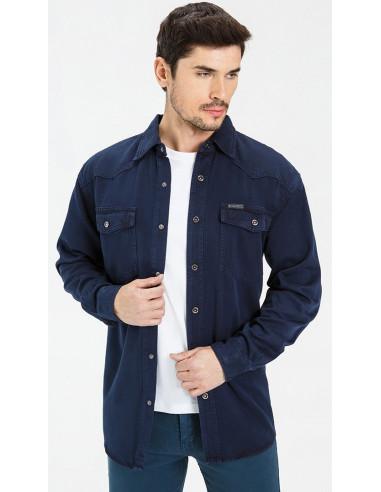 Рубашка джинсовая VELOCITY 16-V34