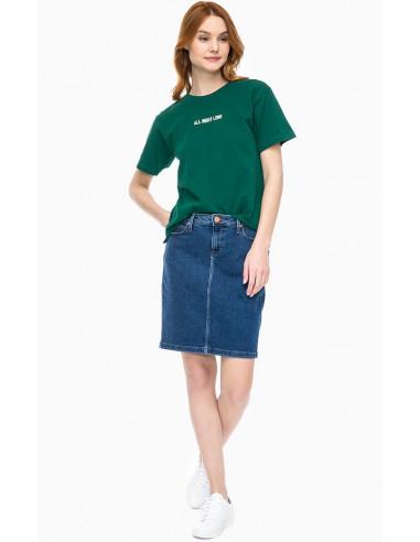 Джинсовая юбка женская Lee L38GRHVW